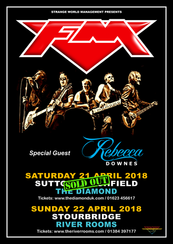 FM / Rebecca Downes - 21 + 22 April 2018 poster