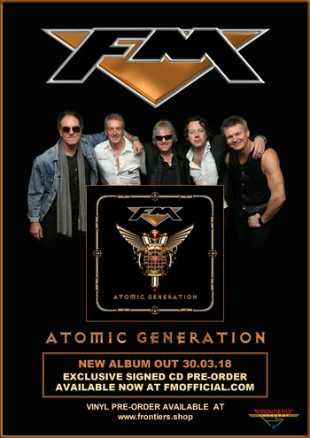 FM - new album - Atomic Generation - Signed CD Pre-order