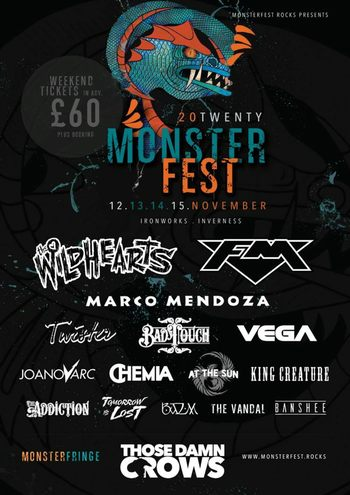 FM at Monsterfest - Nov 2020 - poster