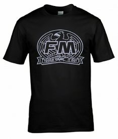 "FM ""Tough It Out"" retro T-shirt"